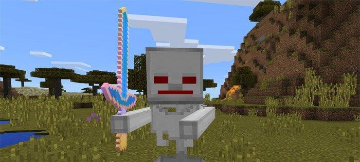 Мод Robot Skeleton на Андроид для Майнкрафт ПЕ 1.1.0.9