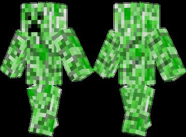Скин для Minecraft - Creeper / Скачать бесплатно
