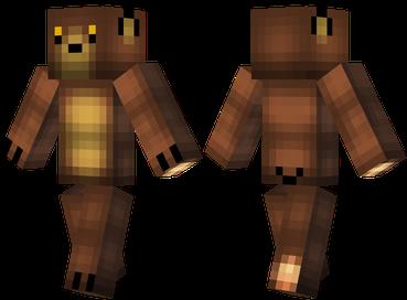 Скин для Майнкрафт скачать бесплатно / Медведь