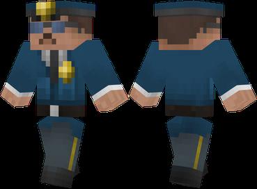 Скачать бесплатно скин полицейского для Майнкрафт