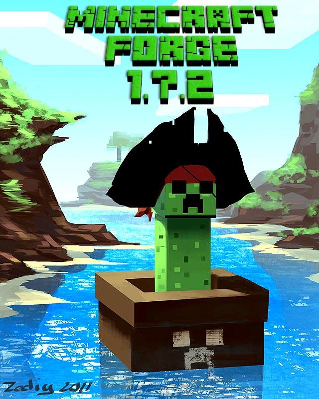 Minecraft forge 1 7 2 1 6 4 1 6 2 1 5 2 майнкрафт jar