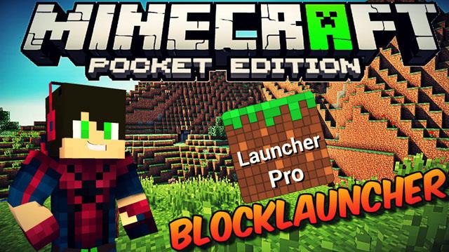 Скачать BlockLauncher v1.11 PRO для MСPE 0.13.0 на телефон