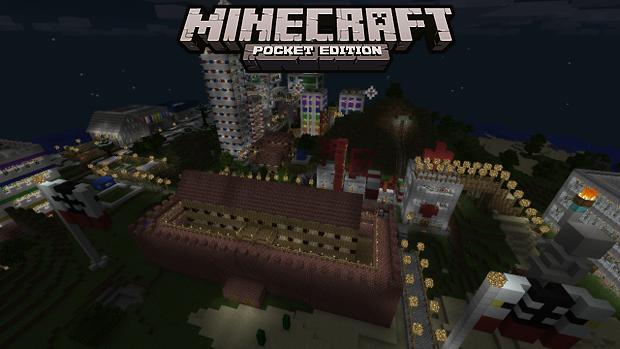 Скачать карту на iOS/Андроид - Liberty City для Майнкрафт Pocket Edition