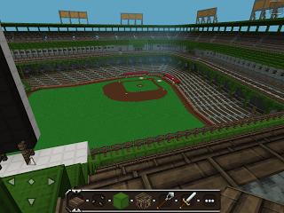 Карта для Андроид / PocketEditon / Бейсбольный стадион