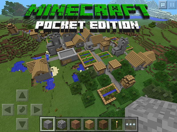 Скачать бесплатно игру Minecraft для телефона андроид iPhone / iPod / Minecraft Pocket Edition