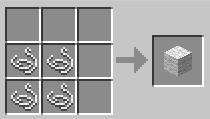 Блок шерсти (рецпты в игре майнкрафт)