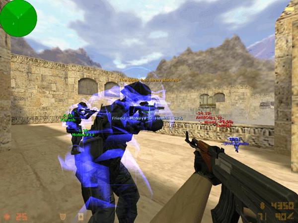 Один из видов читов в игре Counter Strike