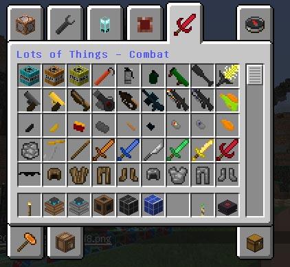 Скачать Майнкрафт с модами на оружие и Build Craft