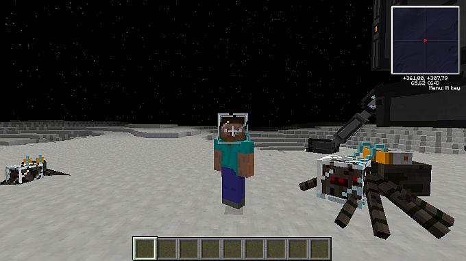 Скачать бесплатно сборку Майнкрафт 1.6.4 с модом Galacticraft