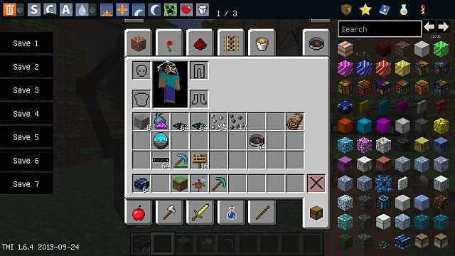 Майнкрафт 1.6.4 / Новые блоки и предметы