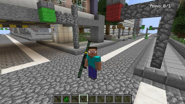 Скачать Майнкрафт на компьютер с модами на оружие
