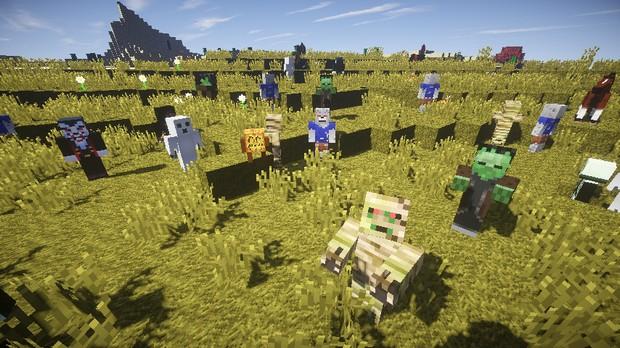 Скачать Minecraft c модами :: Сборка Halloween