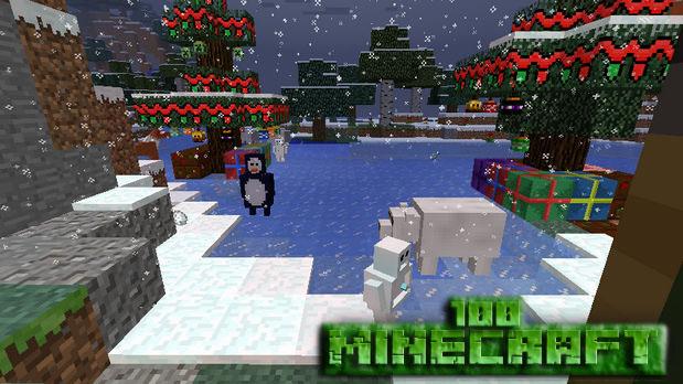 Скачать новогоднюю сборку с модами Майнкрафт 1.7.10 на оружие