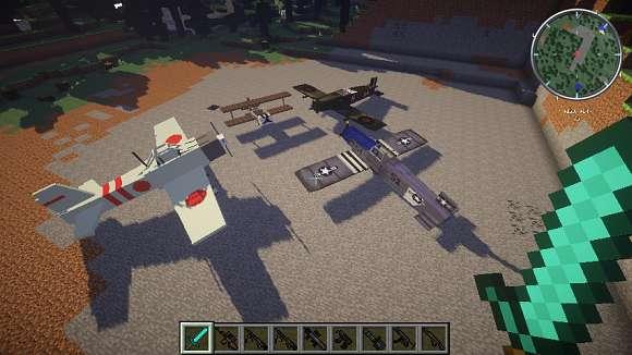 Скачать Майнкрафт 1.7.10 с модами на оружие и военной техникой