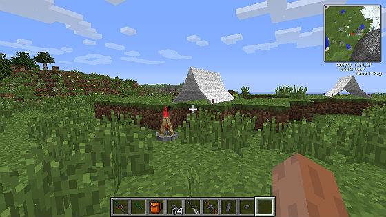 Скачать моды для Minecraft 1.6.2 / Палатки
