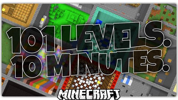 Скачать паркур карту для Майнкрафт 1.11.2