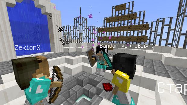 Скачать карту на прохождение - Sky Crystals для Майнкрафт 1.11.2