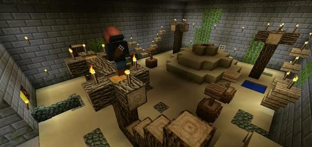 Карта The Jungle Temple на прохождение для Майнкрафт 1.8