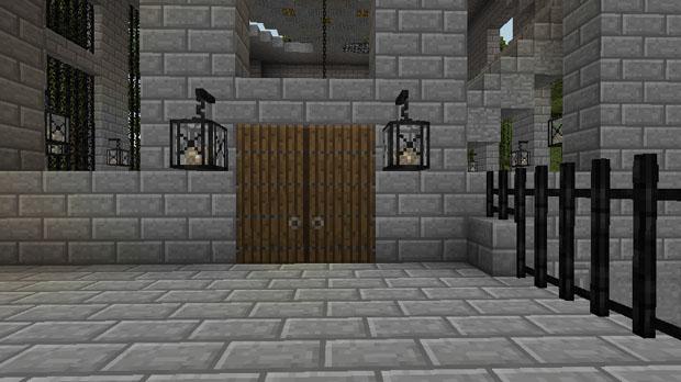 Скачать мод Big Doors для Майнкрафт 1.10.2 - 1.7.10