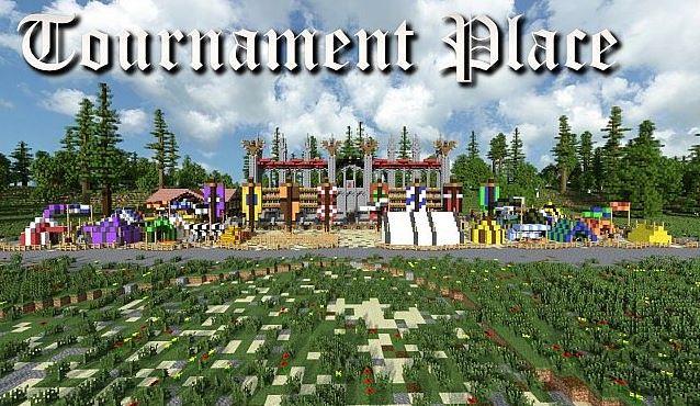 Скачать турнирную PvP карту для Майнкрафт 1.8.х, 1.7.10, 1.6.4