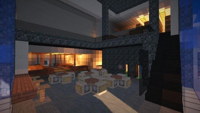 Скачать карту Modern School для Minecraft 1.8