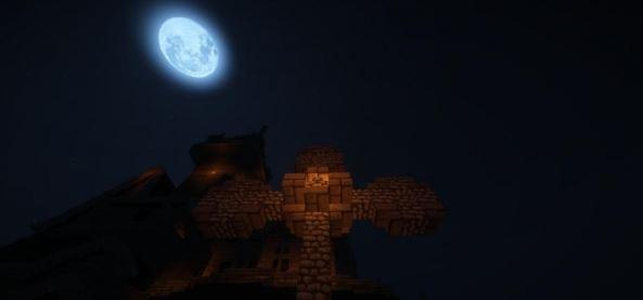 Карта с прохождением The Lunatic Asylum of Darkness для Майнкрафт