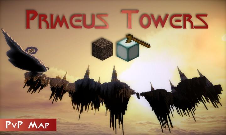 Скачать PvP карту Primeus Towers для Minecraft