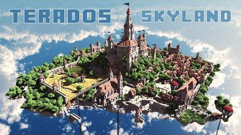 Карта для Майнкрафт / Terados SkyLand / Скачать бесплатно