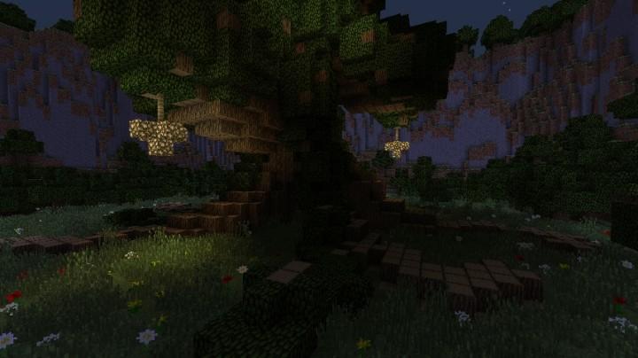 Карта для Minecraft / The Grove