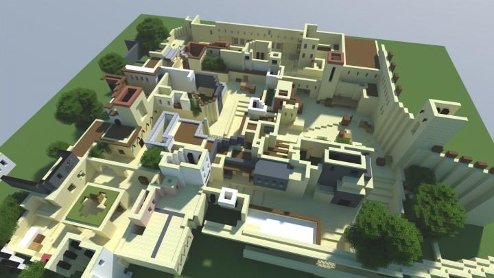 PVP карта de_mirage для Minecraft / Скачать бесплатно
