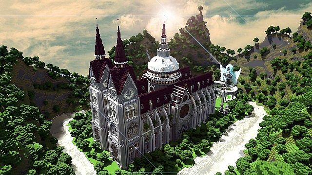 Скачать собор Денария для Майнкрафт бесплатно
