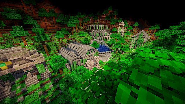 Скачать бесплатно карту для Minecraft