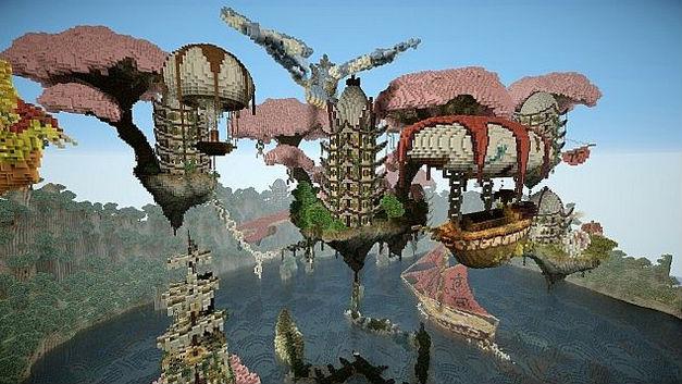 Карта в эпическом стиле для Minecraft