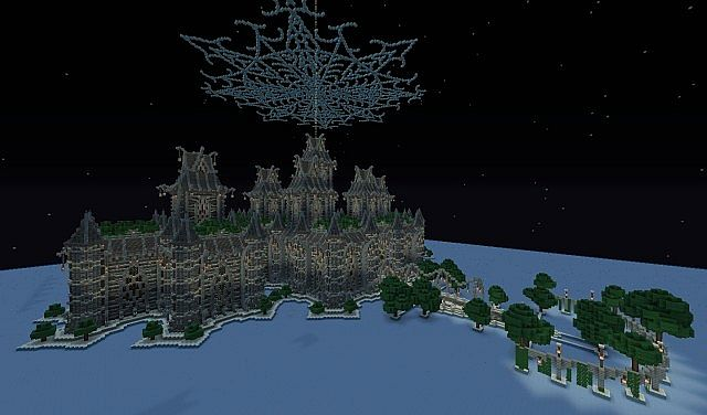 Скачать карту для Minecraft - Храм Рэйлент