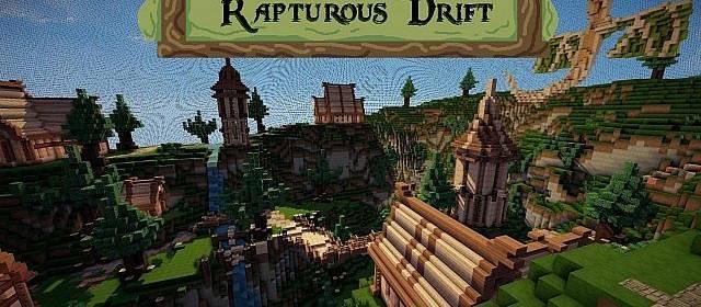 Фантастическая карта для Minecraft 1.5.1 - 1.6 / Скачать бесплатно
