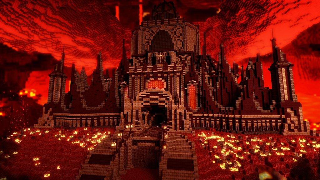 Скачать карту для Майнкрафт приключение в замке Herobrine