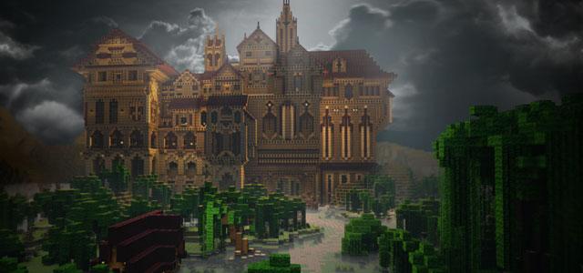 Скачать карту замок херобрина для игры Майнкрафт