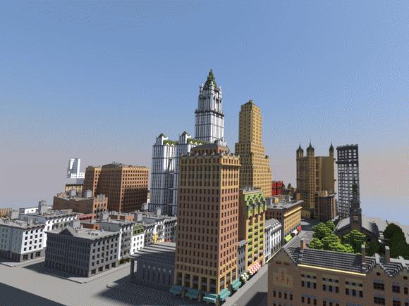 Скачать карту Нью-Йорк для Майнкрафт бесплатно