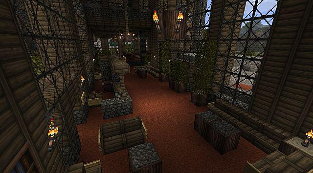 Отель / Карта Minecraft