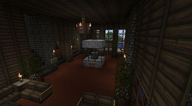 Большой отель для Minecraft