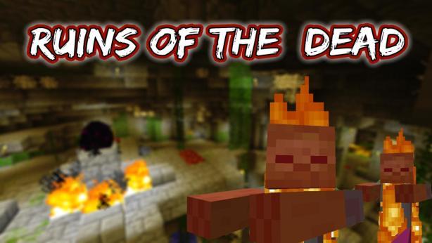 Скачать карту на выживание для Minecraft 1.5.2 / Ruins of the Dead
