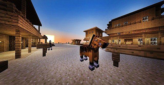 Minecraft карта на выживание 1.5.2