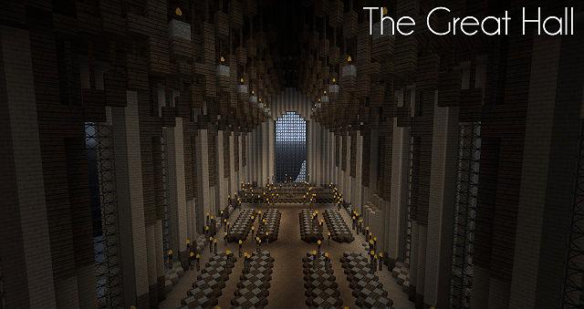 Замок Гарри Поттера / Карта для Minecraft