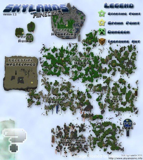 Скачать бесплатно карту для Minecraft 1.7.2, 1.6.2, 1.5.2 на выживание