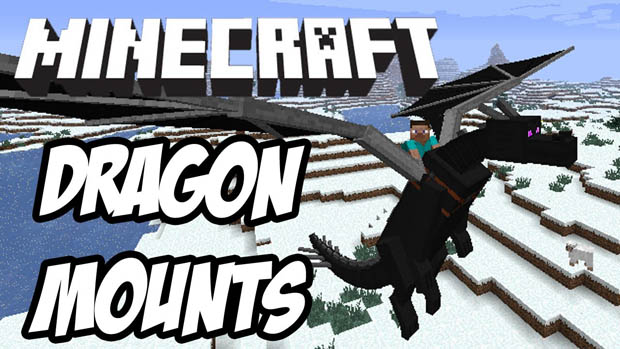 Мод на драконов (Dragon Mounts) для Minecraft 1.10.2/1.7.10