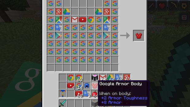 Скачать бесплатно Google мод для Майнкрафт 1.10.2