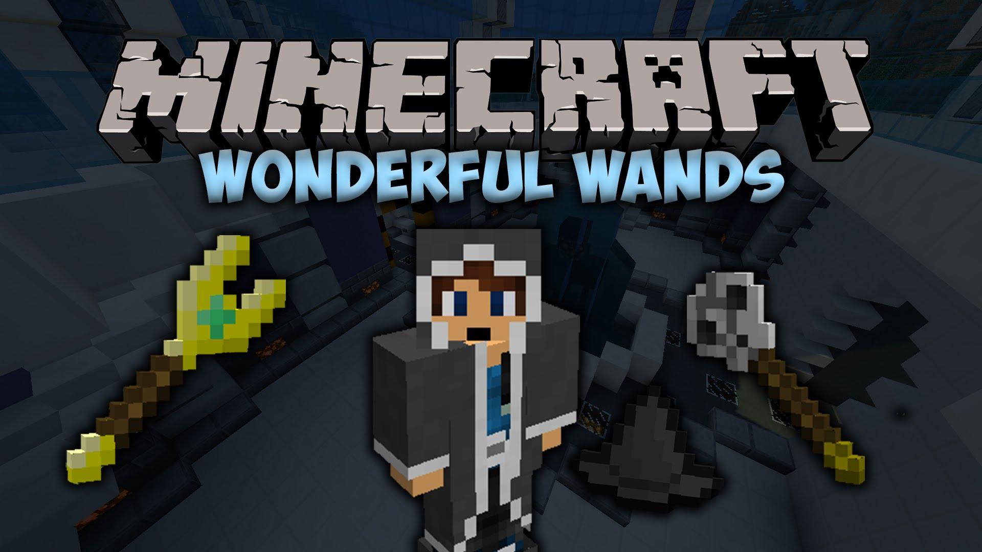 Скачать мод для Minecraft 1.10.2/1.9.4 - Wonderful Wands