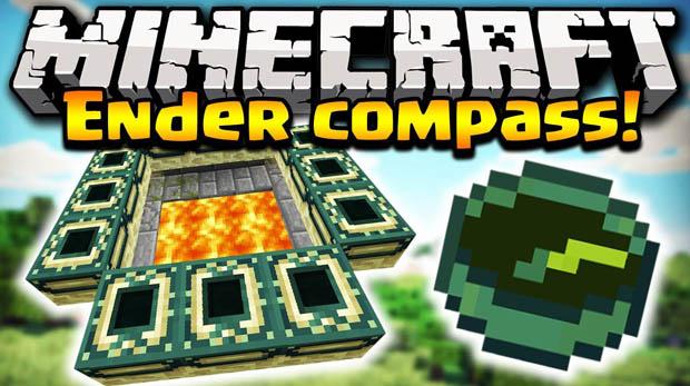 Скачать мод Ender Compass для Minecraft 1.11.2/1.10.2