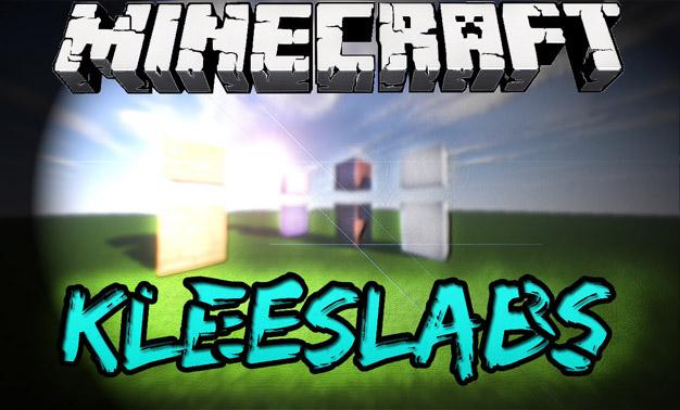 Скачать мод KleeSlabs для Майнкрафт 1.11.2