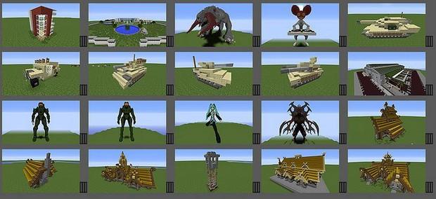 Мод Instant Massive Structures для Minecraft 1.11.2/1.10.2